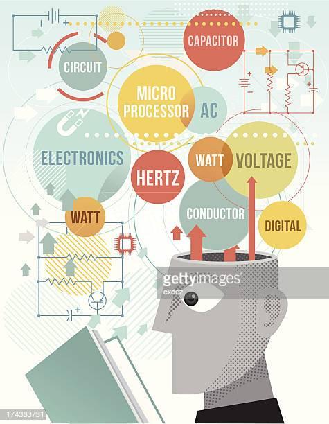studying electronics