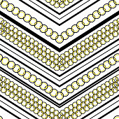 Stylish Modern pastel polka dots pattern mix and geometric modern zig zag line seamless pattern vector for fashion,scarf ,fabric and all prints on white background color