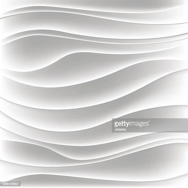 Sutiles blanco curvas