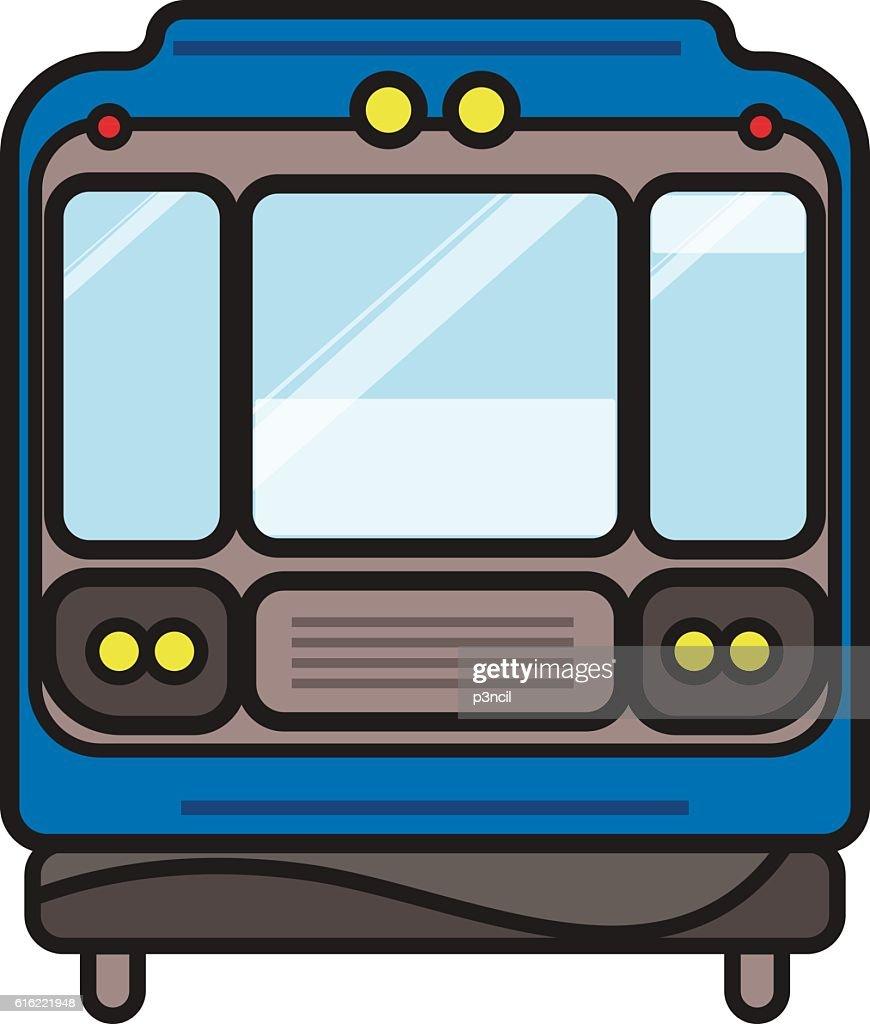 U-Bahnzug  : Vektorgrafik