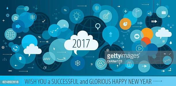 Successful New Year Business Greeting