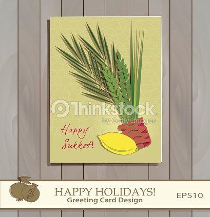 Sukkot festival greeting card design vector art thinkstock sukkot festival greeting card design vector art m4hsunfo