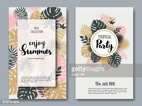 Summer  banners : stock vector