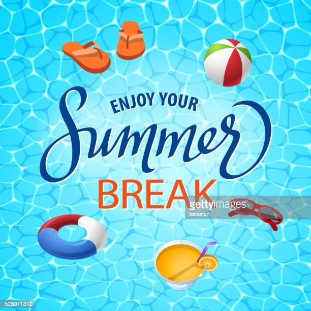 Summer Beach Elements Set