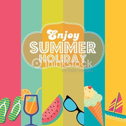 Vektor Sommer Strand Party Flyer Vorlage Vektorgrafik | Thinkstock
