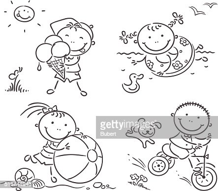 Image Result For Summer Water Balloon Fun Coloring Pages