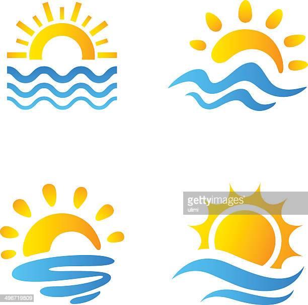Soleil et la mer