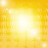 Sun Background With Blur With Gradient Mesh, Vector Illustration