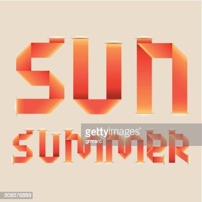 sun design : Vector Art