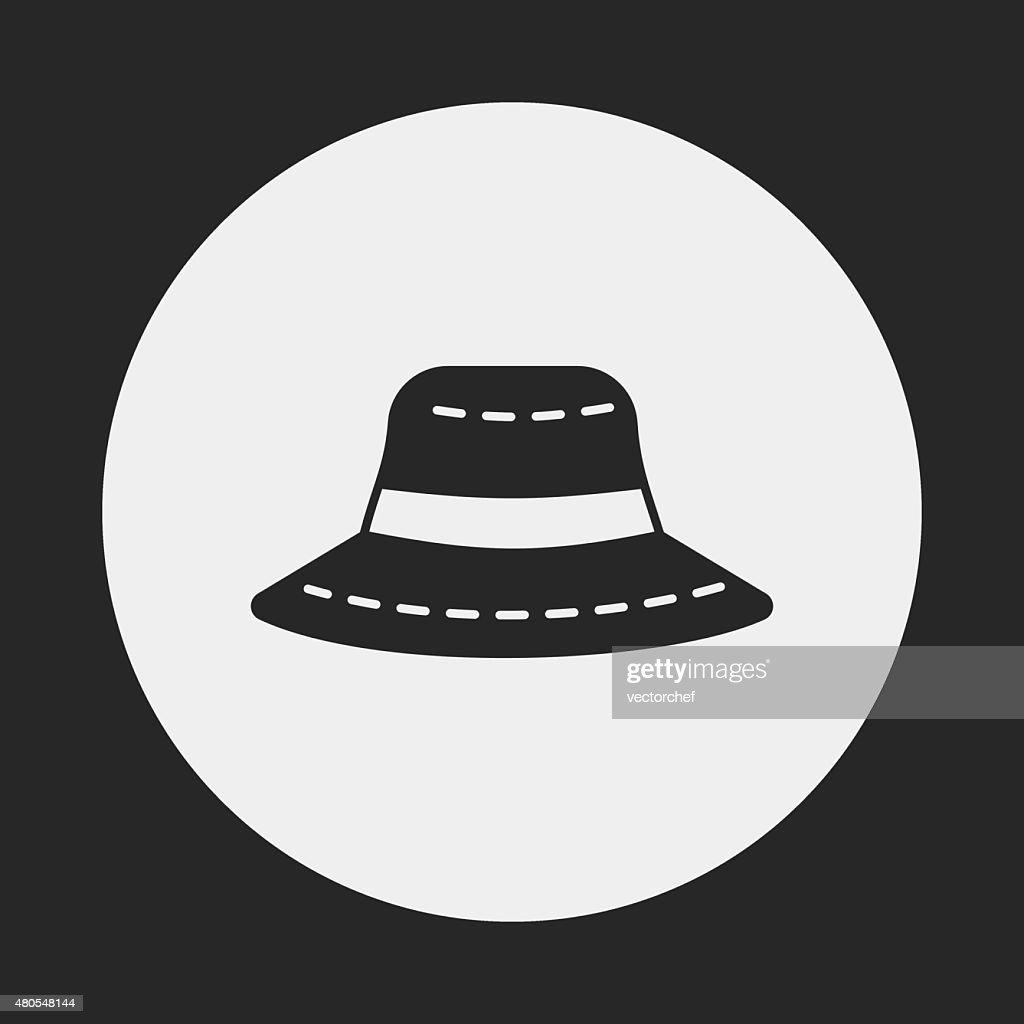 Ícone de Chapéu de Sol : Arte vetorial