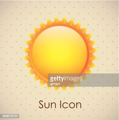 Sun icons : Vector Art