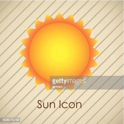 Sun icons : Vector Art