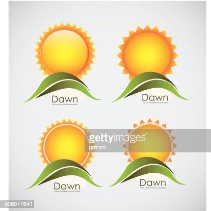 Sun icons : Vektorgrafik