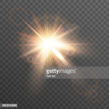 Dim. Lens flare. : clipart vectoriel