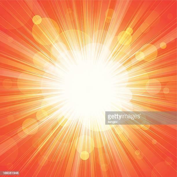 Sunbeam & defocused