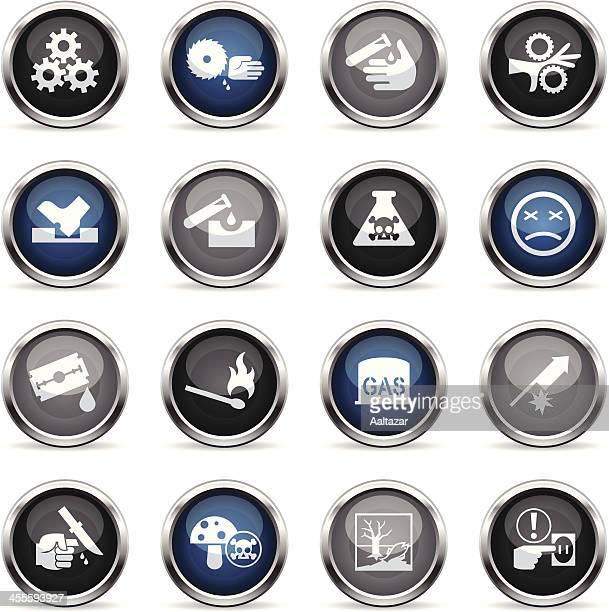 Supergloss Icons - Caution