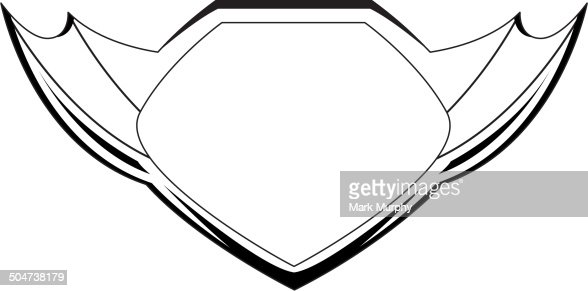 Shield vector outline