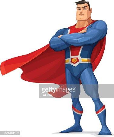 Superhero : Vector Art