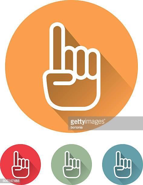 SUPERLEGGERO Design piatto icona interfaccia che indica