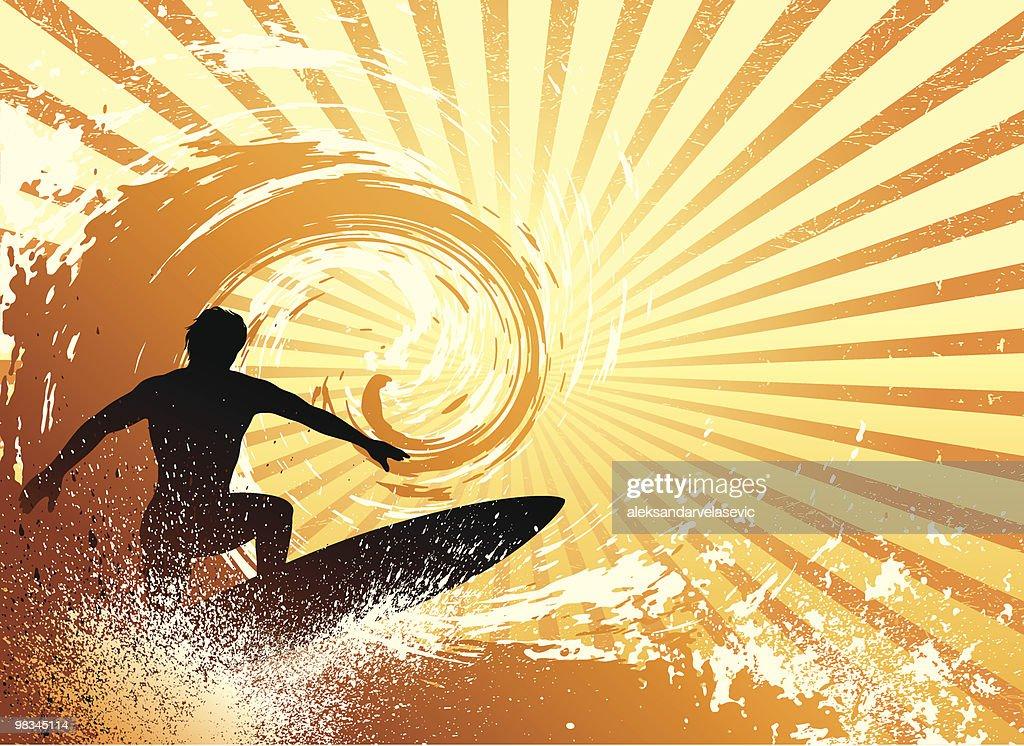 Surf : Vector Art