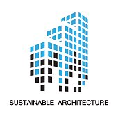 sustainable architecture,building,icon and symbol