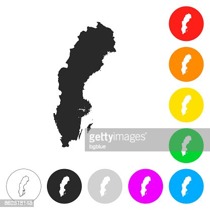 Sweden Map Infographic Vector Art Getty Images - Sweden map clipart