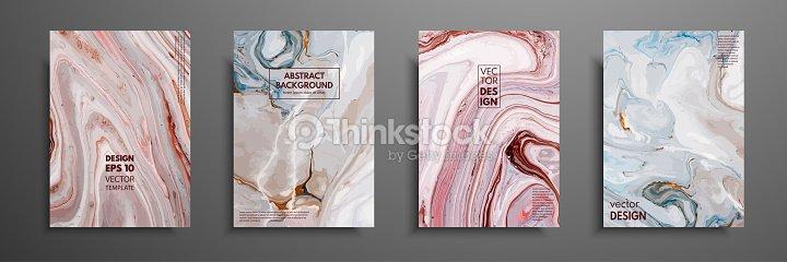 Art Fluide Applicable Pour Les Couvertures De Conception Presentation Invitation Depliants Rapports Annuels Affiches Et Cartes Visite OEuvre Dart