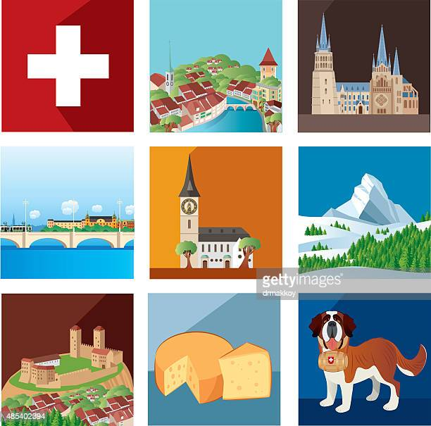 Switzerland Stock Illustrations And Cartoons Getty Images