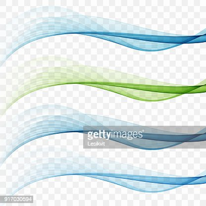 Swoosh wave lines layout with abstract fresh dynamic streaks : Vector Art