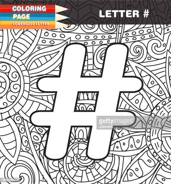 Symbol Coloring page doodle