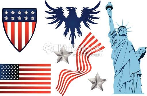 Symbols Of America Vector Art Thinkstock