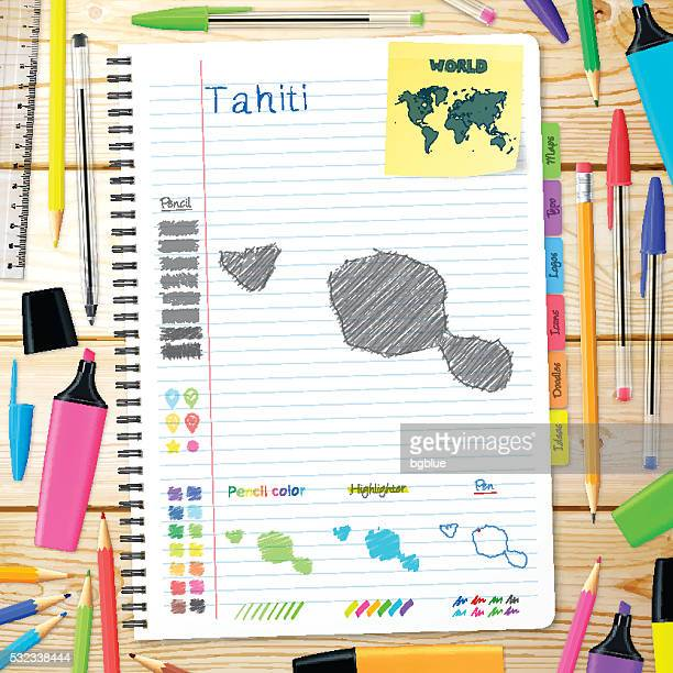 Illustrations et dessins animés de Tahiti | Getty Images