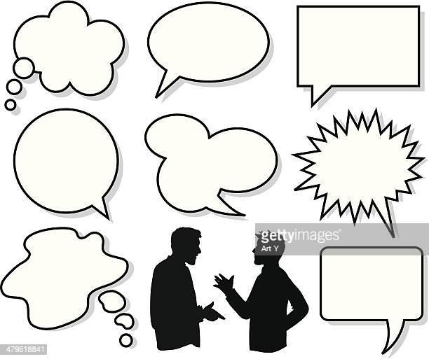 Talk, - think!