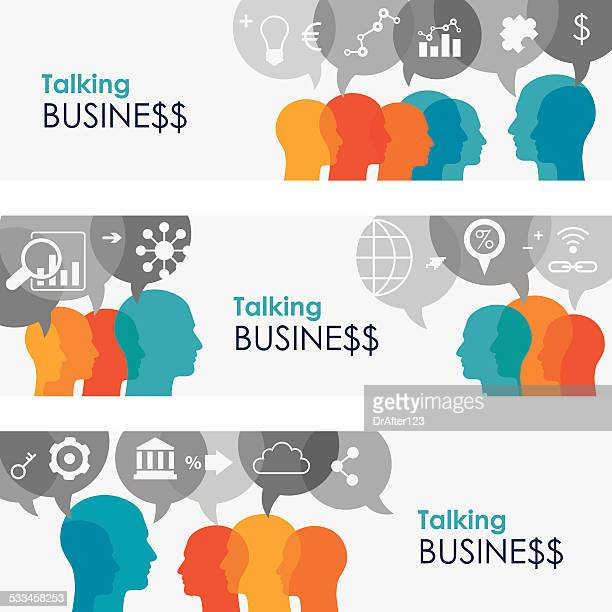Talking Business Online Banners
