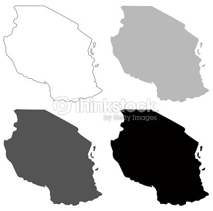 Tanzania Maps Vector Art | Thinkstock