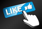 Design vector of social media illustration