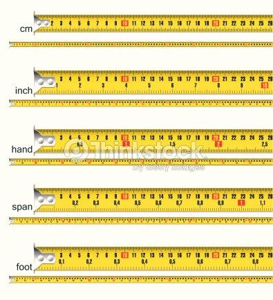 ruban mesurer en pouces cm s tendent sur pieds et des mains clipart vectoriel thinkstock. Black Bedroom Furniture Sets. Home Design Ideas
