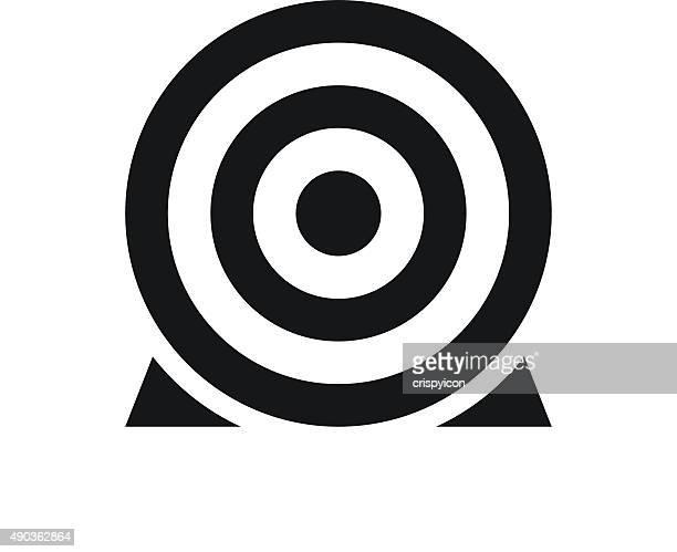 Icono blanco sobre un fondo blanco. SingleSeries