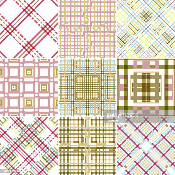 Tartan Seamless Pattern Collection