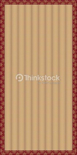 tatami mat with red border vector art thinkstock