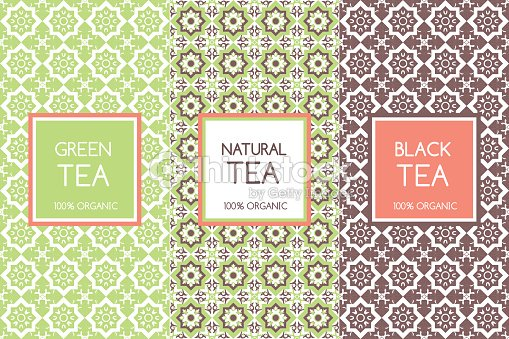 Tea Packaging Templates Vector Clipart Vectoriel Thinkstock