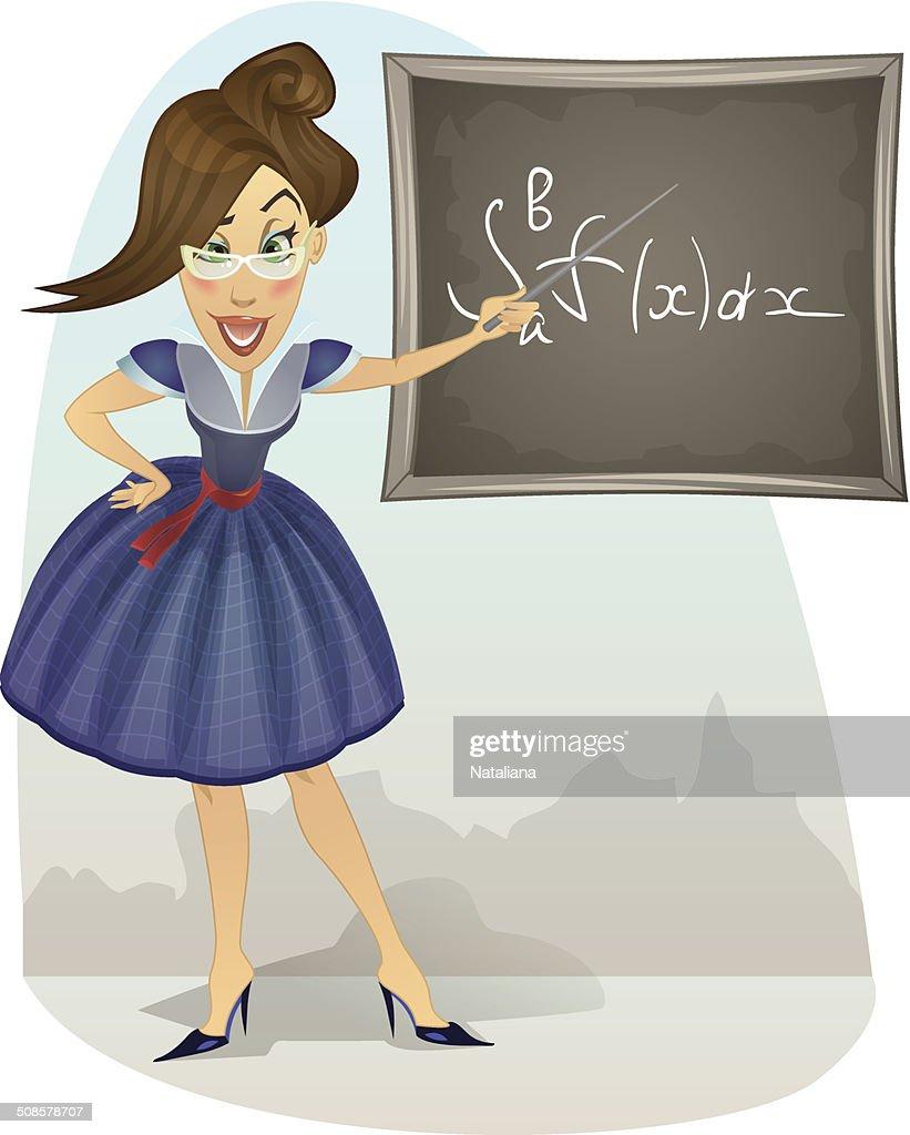 Enseignant : Clipart vectoriel