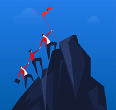 Team effort to climb to the top
