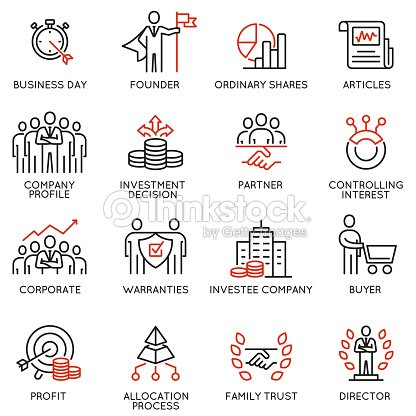 Team work and stakeholders icons - part 5 : stock vector