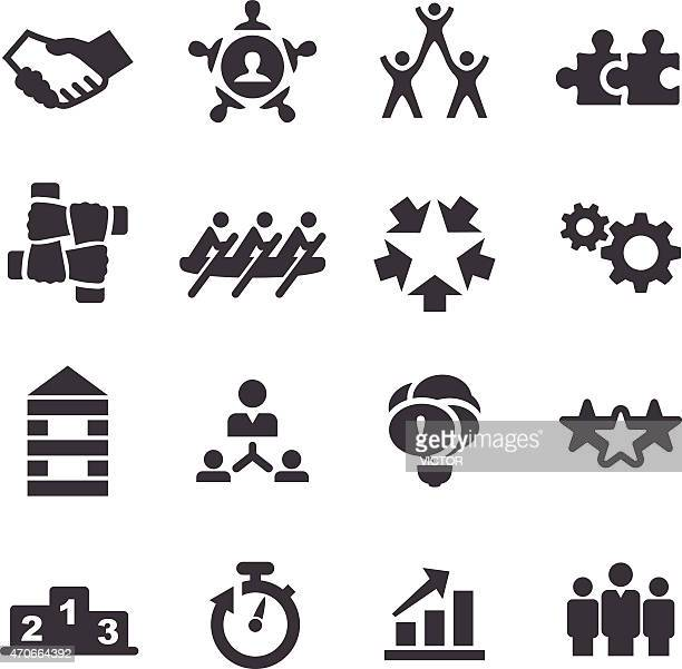 Teamwork Icons - Acme Series