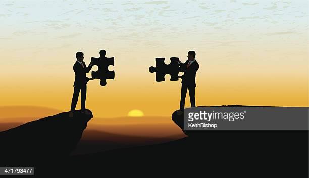 Teamwork, Problem Solving, Solution Background