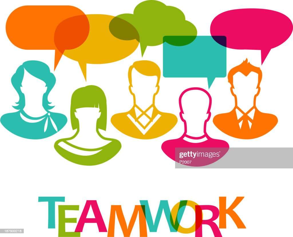 Teamwork Vector Art | Getty Images