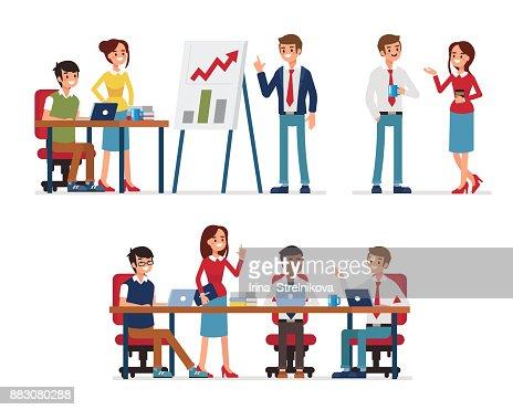 teamwork : stock vector