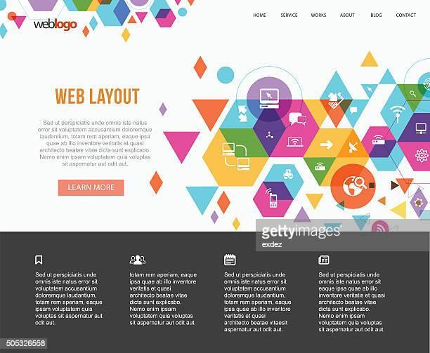 Tech based web design