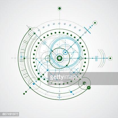Tecnica Dibujo Hecho A Traves De Puntos Y Formas Geometricas Lineas